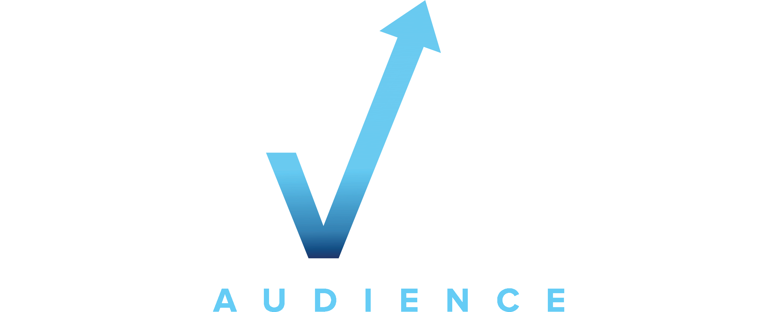 ELEVATED AUDIENCE - Navy_White